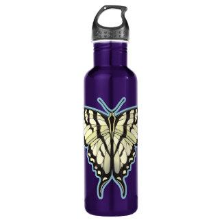 Zebra Swallowtail Butterfly 24oz Water Bottle