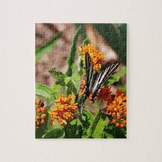 Zebra Swallowtail Butterfly Jigsaw Puzzle