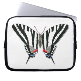 Zebra Swallowtail Butterfly Laptop Sleeve