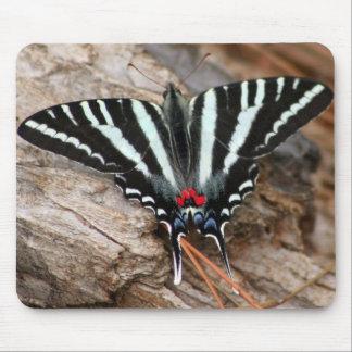 Zebra Swallowtail Butterfly Mousepad