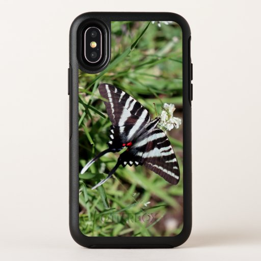 Zebra Swallowtail, Otterbox iPhone X.