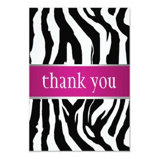 Zebra Sweet Sixteen Invitation