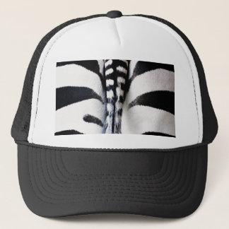 Zebra Tail Black & White Hat/Cap Trucker Hat