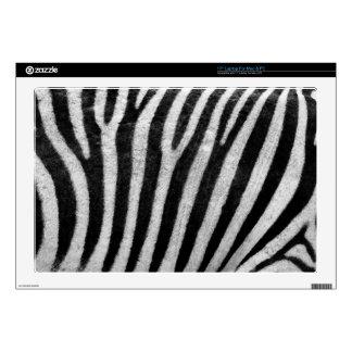"""Zebra Texture 17"""" Laptop Skin"""