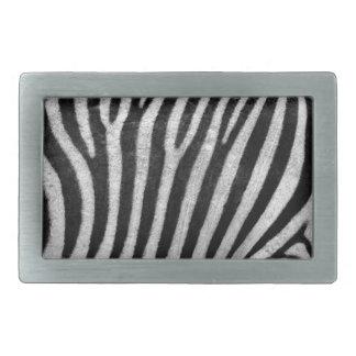 Zebra Texture Belt Buckles