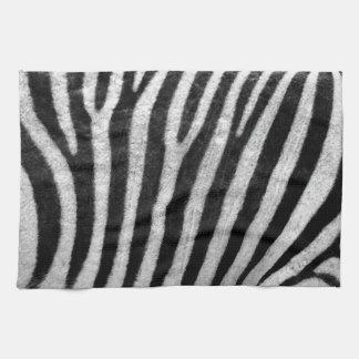 Zebra Texture Hand Towels