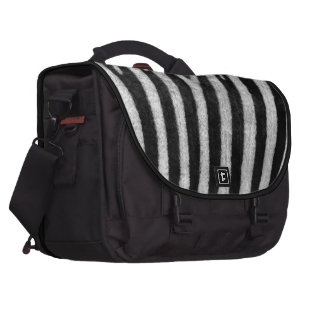 Zebra Texture Laptop Bags
