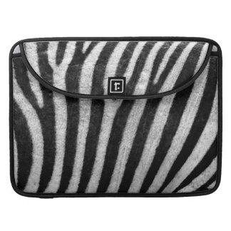 Zebra Texture MacBook Pro Sleeves