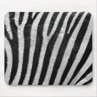 Zebra Texture Mouse Pad
