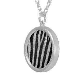 Zebra Texture Personalized Necklace