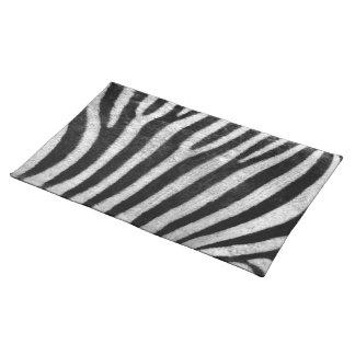 Zebra Texture Place Mats