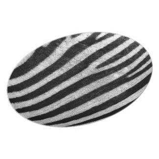 Zebra Texture Plate