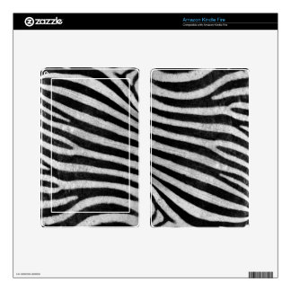 Zebra Texture Skin For Kindle Fire