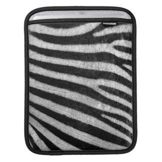 Zebra Texture Sleeves For iPads
