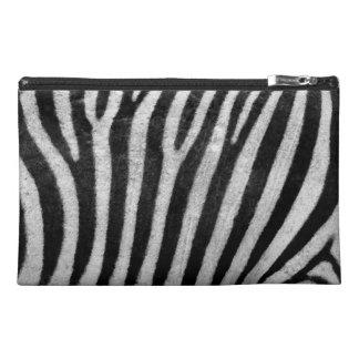 Zebra Texture Travel Accessories Bag