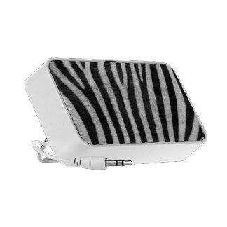 Zebra Texture Travelling Speaker