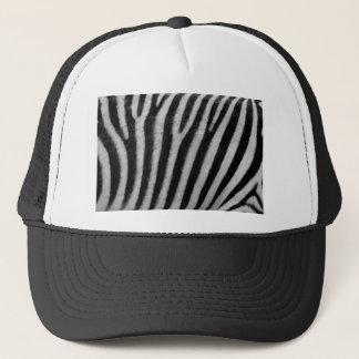 Zebra Texture Trucker Hat