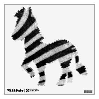 Zebra Texture Wall Decal