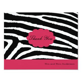 Zebra -Thank you cards