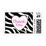 Zebra Thank You Stamps