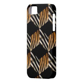 Zebra & Tiger iPhone 5G Case