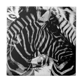 Zebra & Tiger Stripes Gifts Tiles