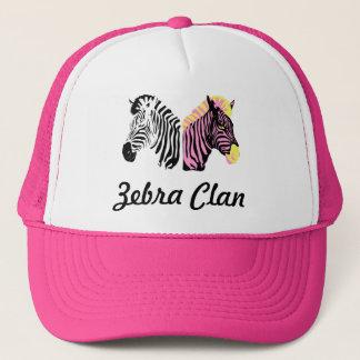 Zebra Truck hat design.