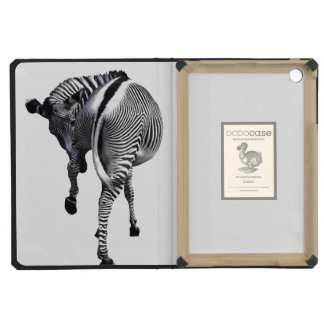 Zebra turning around iPad mini case