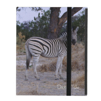 Zebra Twins Double Take Photo iPad Cover