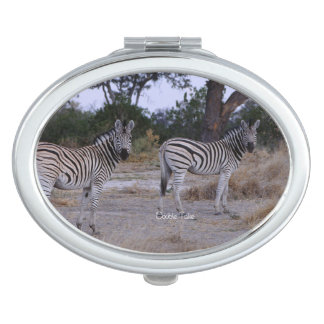 Zebra Twins Double Take Photo Mirror For Makeup