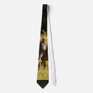 Zebra - unique safari designer range neck tie