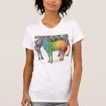 Zebra V-Neck T-shirt
