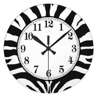 Zebra Wall Clocks