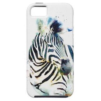 Zebra Watercolor iPhone SE/5/5s Case
