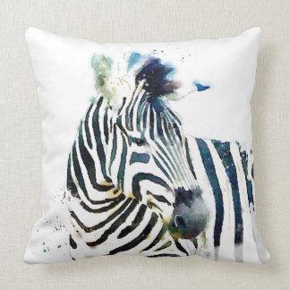 Zebra Watercolor Pillows