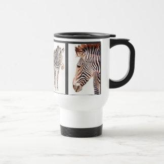 Zebra Watercolor Wildlife Art Mug