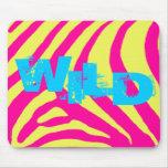 Zebra Wild Customizable Mousepad
