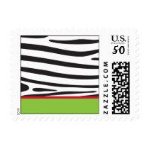 Zebra Wild Postage