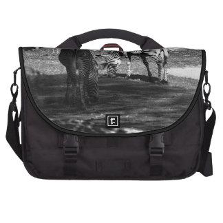 Zebra Wildlife Animal Photo Laptop Bags