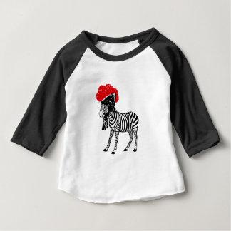 Zebra with Bollenhut Baby T-Shirt