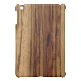 Zebra Wood iPad Mini Cases