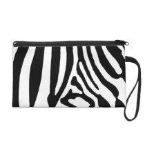 Zebra Wristlet