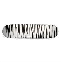 ZEBRA zebra ANIMAL animal Skateboard Deck