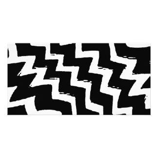 Zebra Zigzag Card