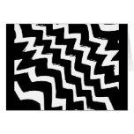 Zebra Zigzag Cards