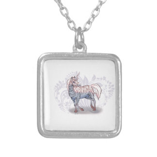 Zebracorn zebra-unicorn necklaces