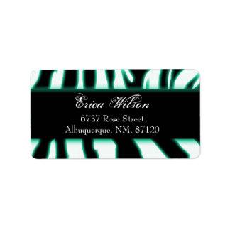 zebragreen etiquetas de dirección
