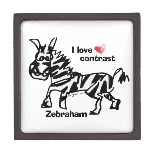 Zebraham- I love contrast Gift Box