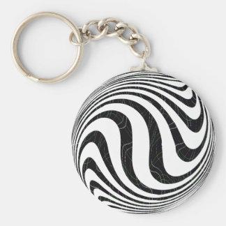 Zebraic Keychains