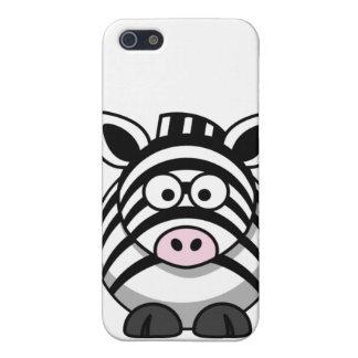 zebraish White iPhone SE/5/5s Case